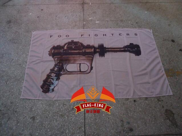 foo fighters band flag,orchestra flag ,90X150 CM size,Digital printing,polyester