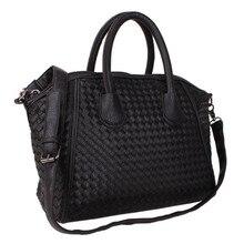 Корейская версия Chaozhou модные женские сумки с большой вместительностью, вязаная сумка через плечо со смайликом