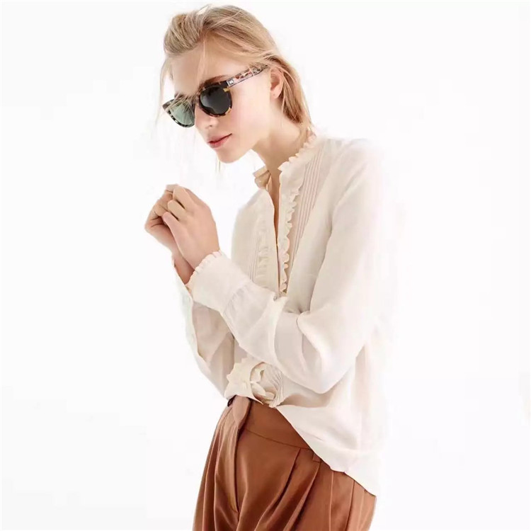 Ivory Silk Blouse Promotion Shop For Promotional Ivory