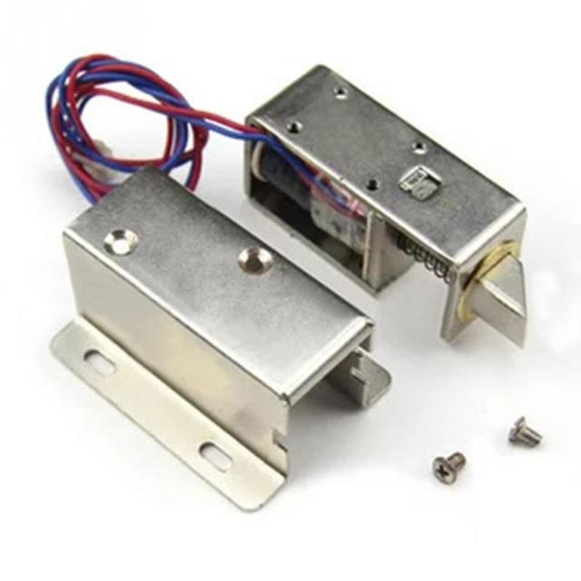 Cabinet Door Lock Electric Lock Assembly Solenoid 1PCS Electronic Door Lock RFID Access Control for Cabinet  sc 1 st  AliExpress.com & Cabinet Door Lock Electric Lock Assembly Solenoid 1PCS Electronic ...