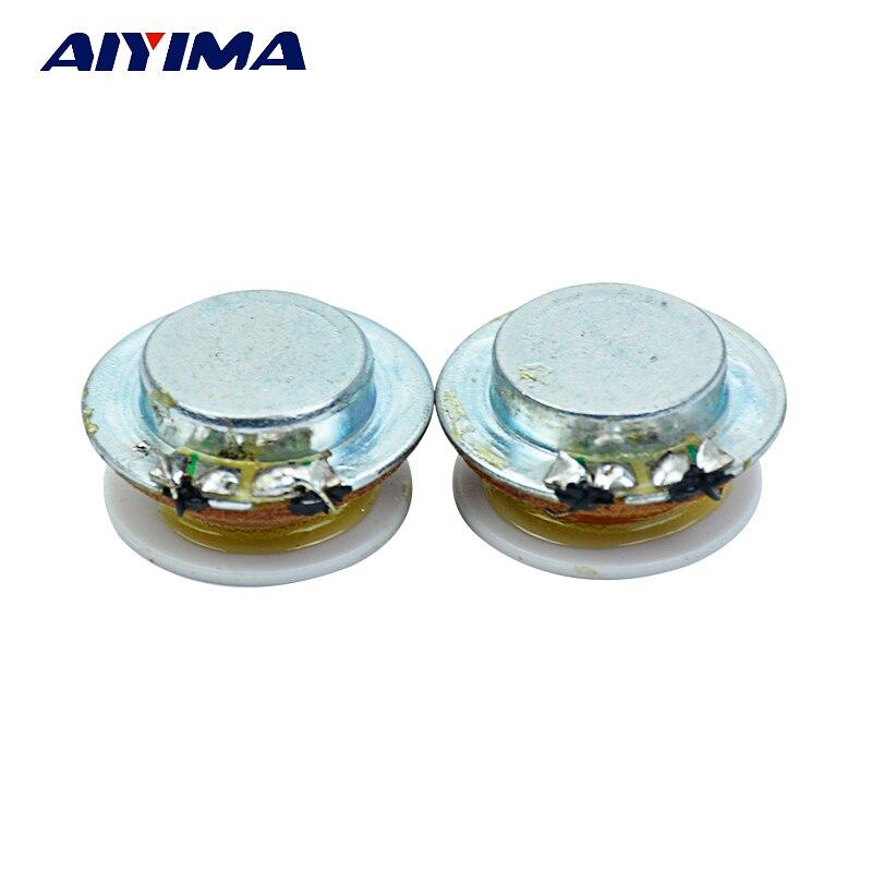 1Inch Audio Portable Speakers Full Range Speaker 2W 4Ohm 24MM Vibration Resonance Speaker Loudspeaker