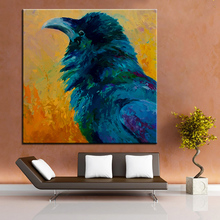 Large Size Printing Oil Painting Raven Study Wall Painting Steampunk Wall  Art Picture For Living Room Painting No Frame Part 54