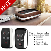 Free Shipping Key Set Of Car Keys Package Protection Shell Key Chain For Range Rover Freelander
