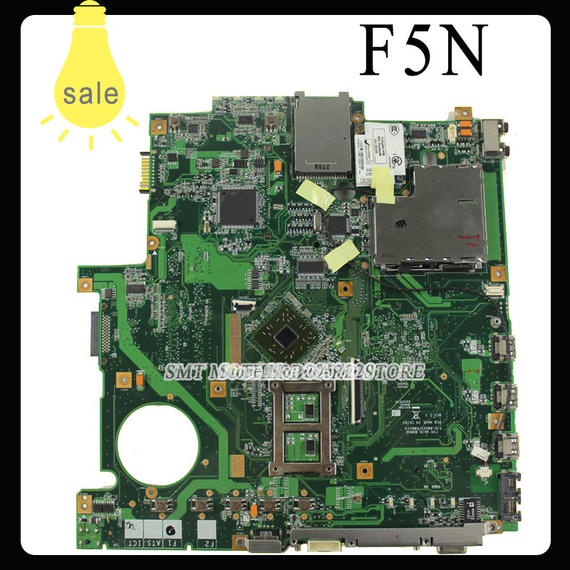 все цены на  F5N X50N Laptop motherboard For Asus F5N Main Board REV: 2.1 fully tested 90days Warranty  онлайн