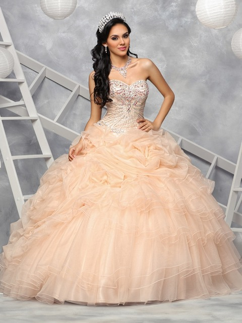 Arabic Black Girl Beaded Crystal Bodice Prom Dresses 2017 Lace ...