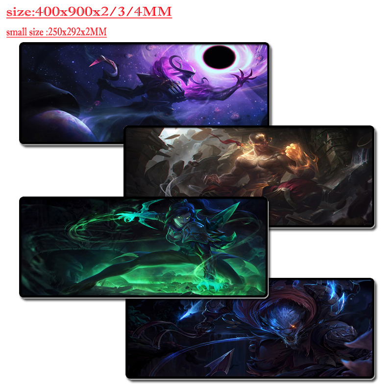 Mairuige High Quality Gaming mouse Pad Big Table Rubber Mat for LOL League of Legends Gamer Pc Computer Notebook Mat 400x900x3