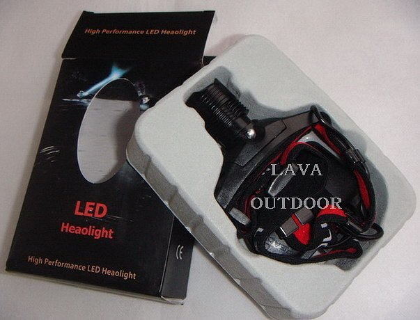 LED Head Lamp - LED Head Light,Helmet Lamp,Zoom Lighting,Long Service Life,Strong Bright,Drop Shipping,Free Shipping