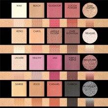 Focallure 1 piezas brillo sombra de ojos, disco 20 Color sombra de ojos Mineral maquillaje brillo pigmento caliente desnudo metálico paleta de sombra de ojos