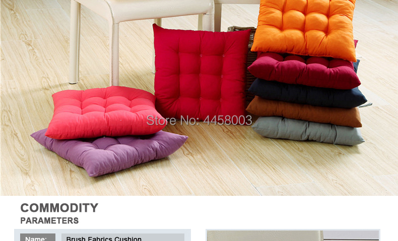 Solid Color Cushion Soft Comfortable office Chair seat cushions Reclining chair cushion Long cushion Various sizes are available