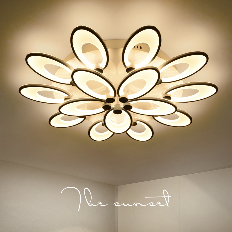Modern LED living room ceiling lamps simple Novelty Acrylic ceiling lights creative bedroom fixtures diningroom ceiling lighting все цены