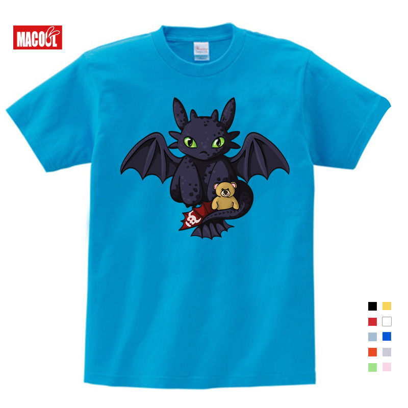 Baby Boy Summer T Shirt How To Train Your Dragon 3 Kids Tops Tee T shirts Sports Wear Casual Clothes Children TShirt Unisex in T Shirts from Mother Kids