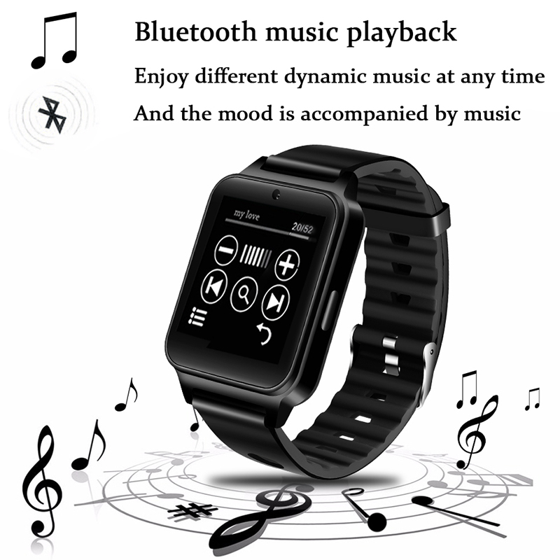 LIGE New Sport Smart Watch Supports SIM TF card MP4 Video Player Bluetooth Connection Music player Smart Watch Reloj inteligente in Smart Watches from Consumer Electronics