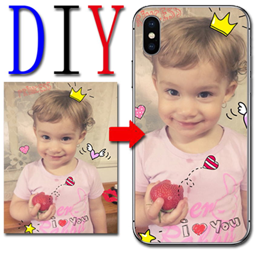 Custom your photo picture name Case For LG K10 K 10 2016 2017 2018 K11 K 11 Cover Phone Case Personalized silicone Cover Diy image