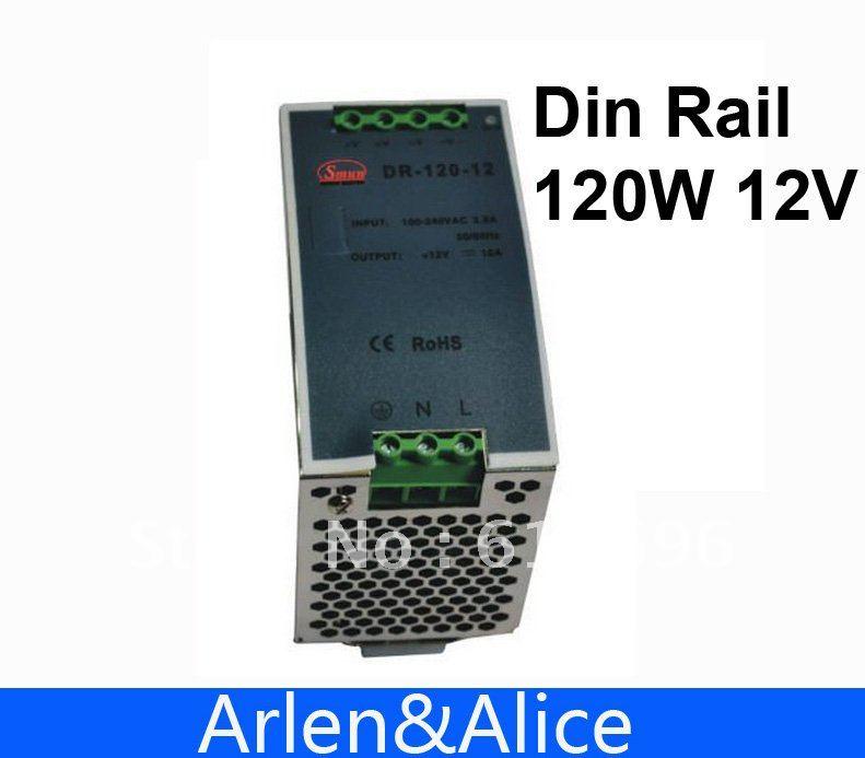 120W 12V  Din Rail Single Output Switching power supply минипечь gefest пгэ 120 пгэ 120
