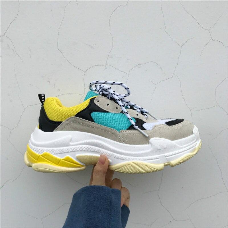 Atmungsaktive Männer Schuhe Bunte Mode Mesh Lace-up Casual Patchwork Flache Schuhe Komfortable Zapatillas De Deporte Schuhe Home