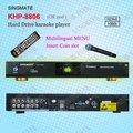 8806 (#3) 2017 Venta Caliente Máquina de Karaoke Player Con HDMI 1080 P Sistema de KTV, apoyo VOB/DAT/AVI/MPG/CDG/MP3 + G canciones, USB agregar canciones
