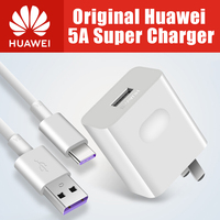 Original Huawei Mobile phone charger 22.5W USB quick charge 3.0 4.5V 5A Type C cable portable fast super chargers accessories