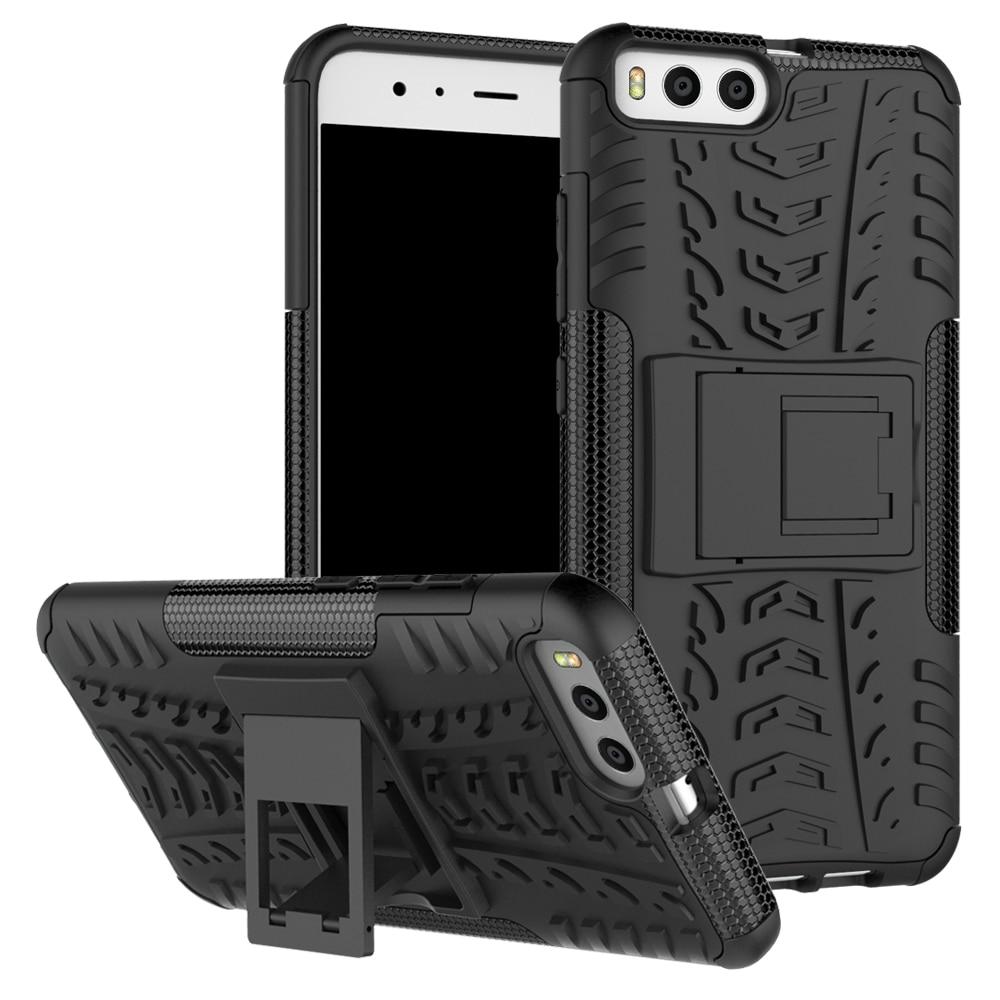 Xiaomi Mi 6 5.15inch Case Hybrid TPU + PC Armor med stativhårt - Reservdelar och tillbehör för mobiltelefoner - Foto 4