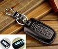 Piel de vaca, alta calidad llave del coche caso de la cubierta para kia forte Borrego sonata K2 K5 Sportage r Sorento alma ix35 de los accesorios del sostenedor