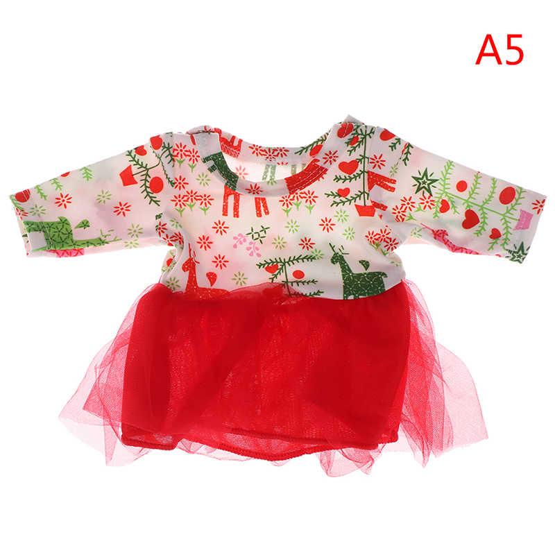 18 inch Quần Áo Búp Bê Cho các Cô Gái Trẻ Em Tốt Nhất Món Quà Sinh Nhật Hạnh Phúc Em Bé Mới Sinh Ra Con Búp Bê Phù Hợp Với Váy