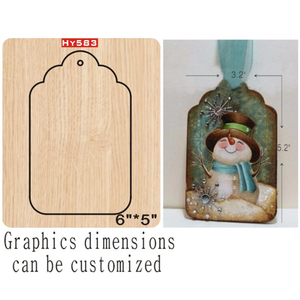 Image 1 - Decorative pendant cutting dies 2019 die cut &wooden dies Suitable  for common die cutting  machines on the market