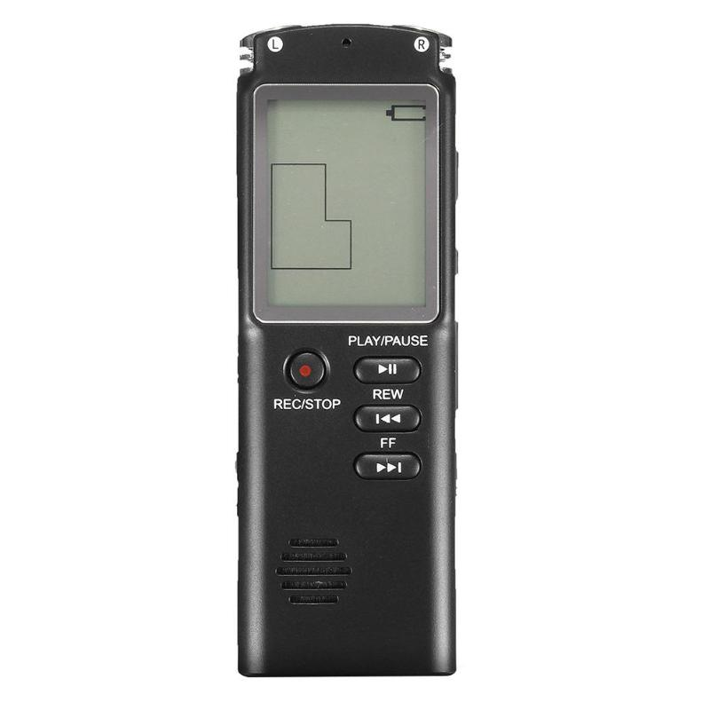 Mini MP3 Player 8GB Rechargeable LCD Digital Audio Sound Voice Recorder Dictaphone Player mp-3 Music player