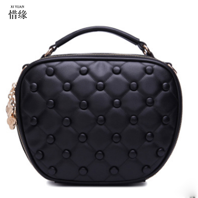 2017 pu Leather Women hand Bag Party Clutch Evening Bags Fashion Ladies Shoulder Crossbody Messenger Bags For Women black/yellow