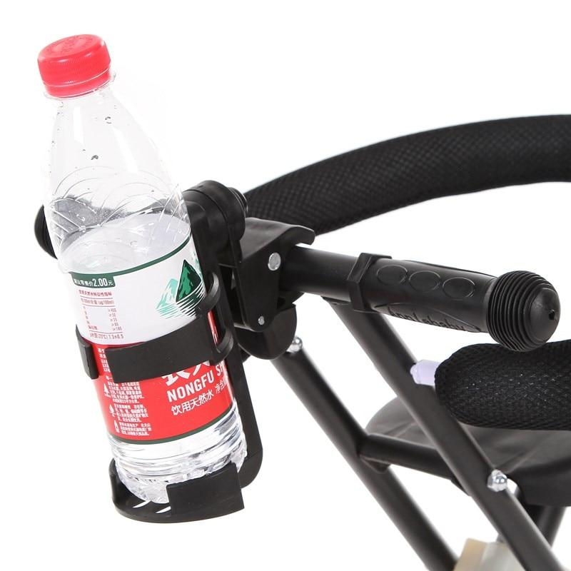 Universal Rotatable Baby Stroller Accessories Parent Console Organizer yoya Cup Holder Baby Stroller Botol Rak Pemegang minuman h