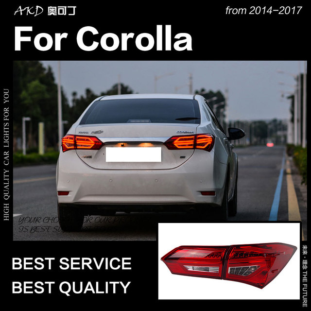 Akd Car Styling For Toyota Corolla Altis Tail Light 2017 Lamp Led