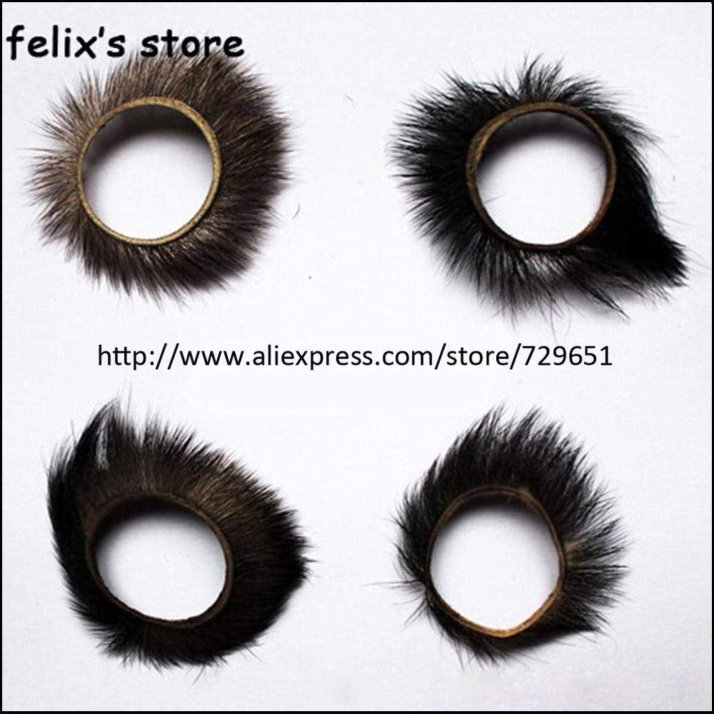 2016 New Extreme Irritation Penis Ring Goat Eye Hair Cock Sleeve Sex Products Supply Testicles Ring Sex Toys For Men H0297-In Penis Rings From -6498
