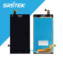 For Huawei Ascend G6 LCD Display Touch Screen Digitizer Full Assembly 4.5 inch 960*540 Black