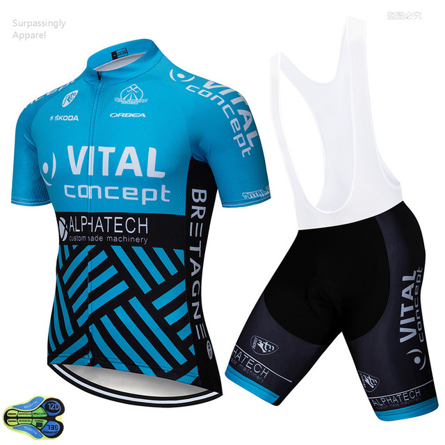 2018 ORBEA TEAM Blue Cycling Jersey 12D Gel Pad Bike Shorts Ropa Ciclismo  Mens Summer Quick-dry Bicycling Maillot Culotte Wear 079546ba9