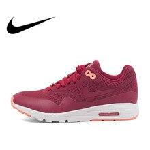 buy online 34fd5 172eb Original ANIKE auténtico WMNS AIR MAX 1 ULTRA MOIRE de mujer zapatos para  correr zapatillas de
