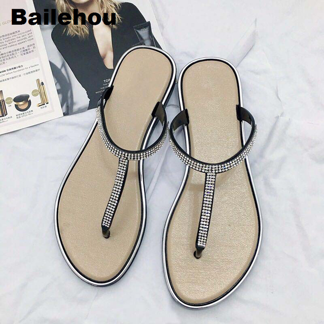 25f25df02362 Bailehou-Fashion-Women -Slippers-Crystal-Diamond-Slipper-Flip-Flops-Sandals-Slip-On-Slides-Flat- Women-Casual.jpg 640x640.jpg