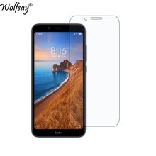 2pcs Phone Glass sFor Xiaomi Redmi 7A Screen Protector Tempered for Film Wolfsay