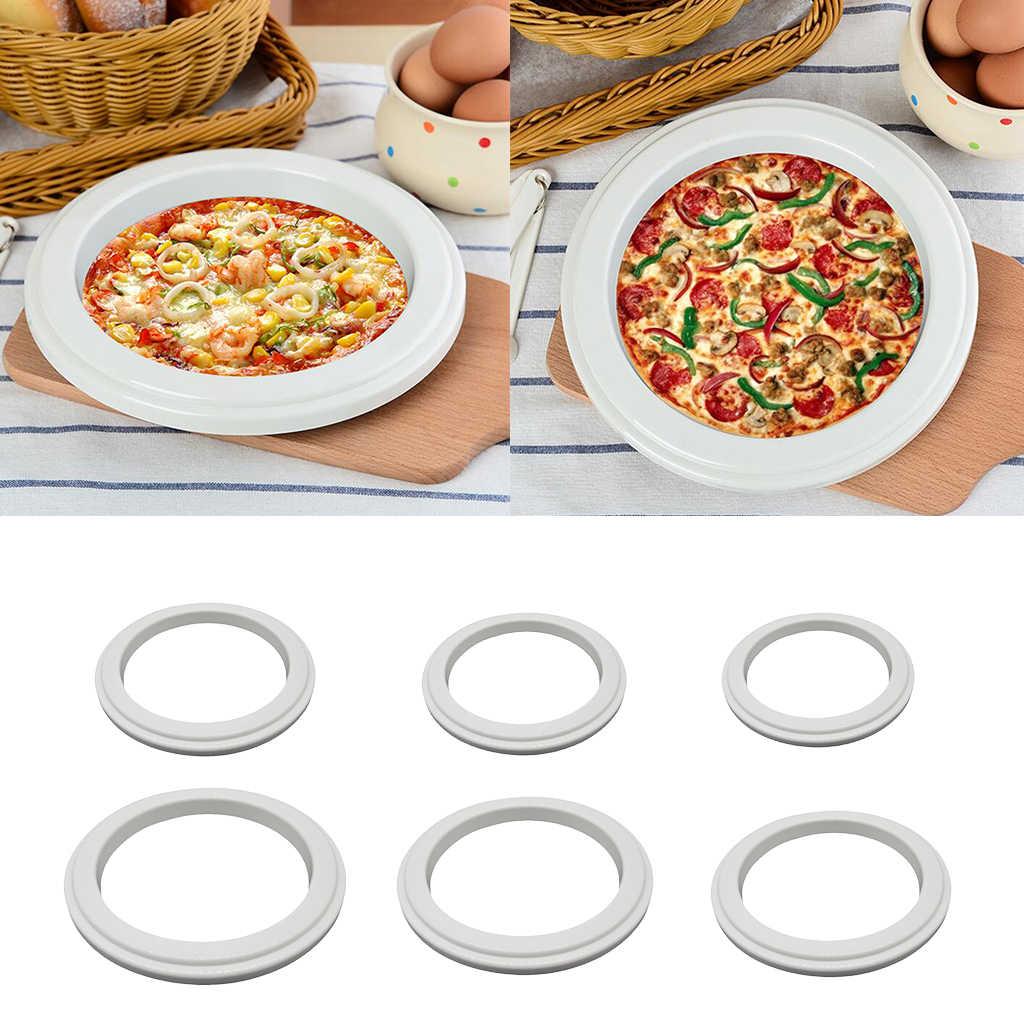 Divers anneau de soucoupe pour Pizza, outil de préparation de Pizza Commercial, 6 tailles disponibles