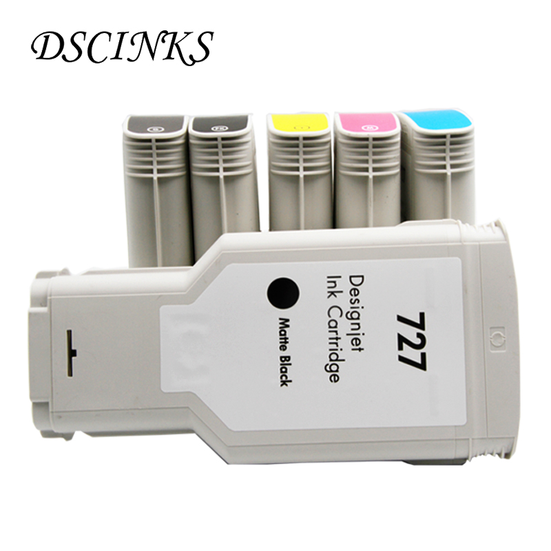 [Third Party] for HP727 Compatible Remanufactured Ink Cartridge for HP 727 T920 T1500 T2500 T930 T1530 T2530 Printer with Chip цена и фото
