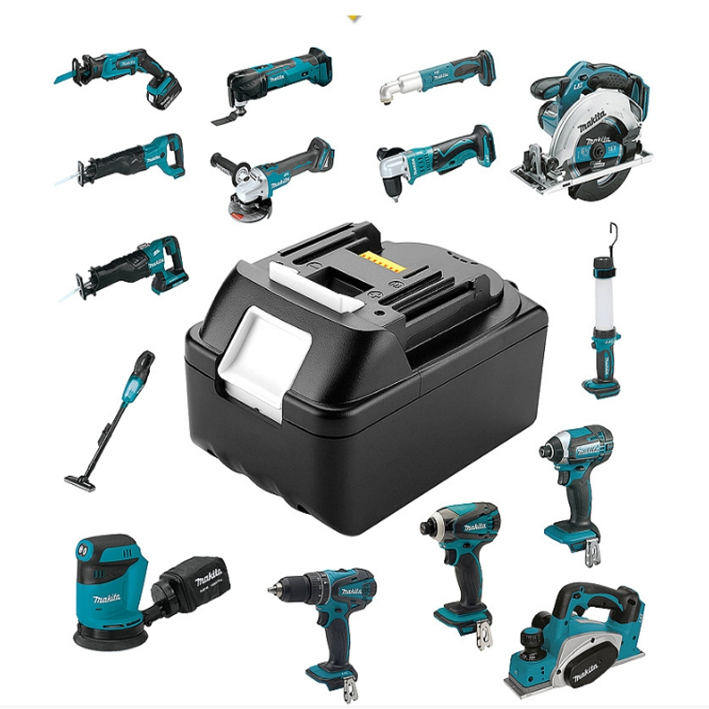 For Makita BL1830 BL1840 18V 5000mAh Power Tool Battery Pack Rechargeable Cordless Drill Li-ion Batteries with led light 1 pc 18v 4000mah rechargeable battery pack power tools batteries replacement cordless for bosch drill bat610 li ion