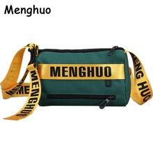 New 6 Colors Hot Ribbon Small Shoulder Crossbody Bags Designer Brand Ladies Clutch Hand Bags Nylon Leisure Women Messenger Bags
