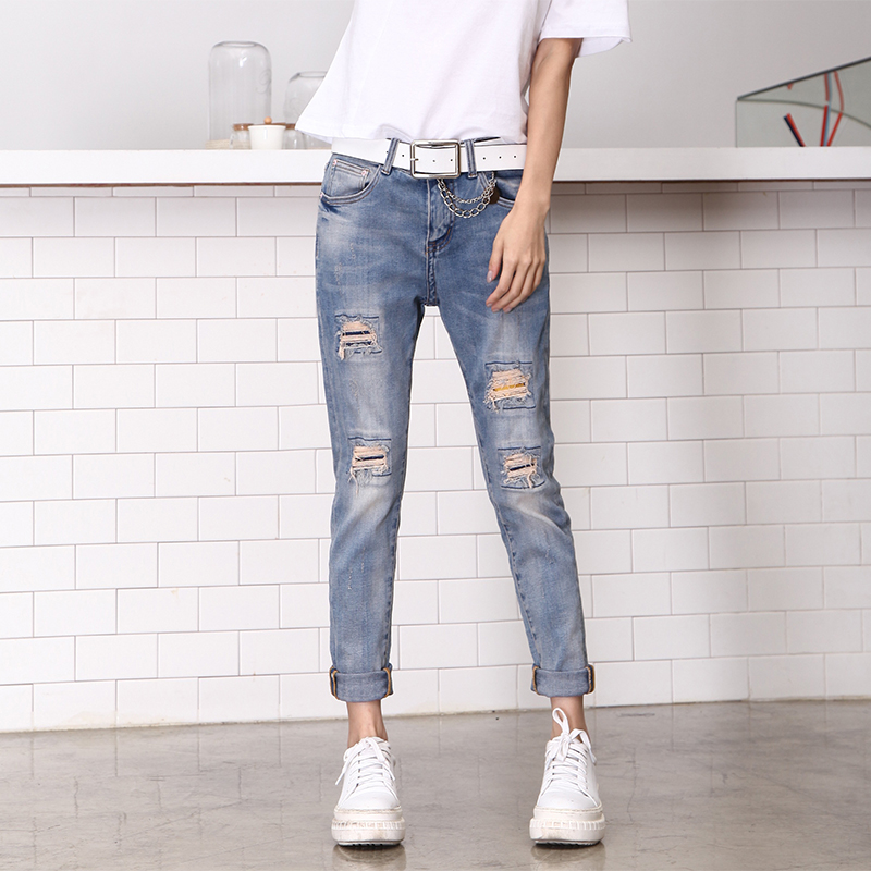 Compare Prices on Plus Size Ripped Jeans- Online Shopping/Buy Low ...
