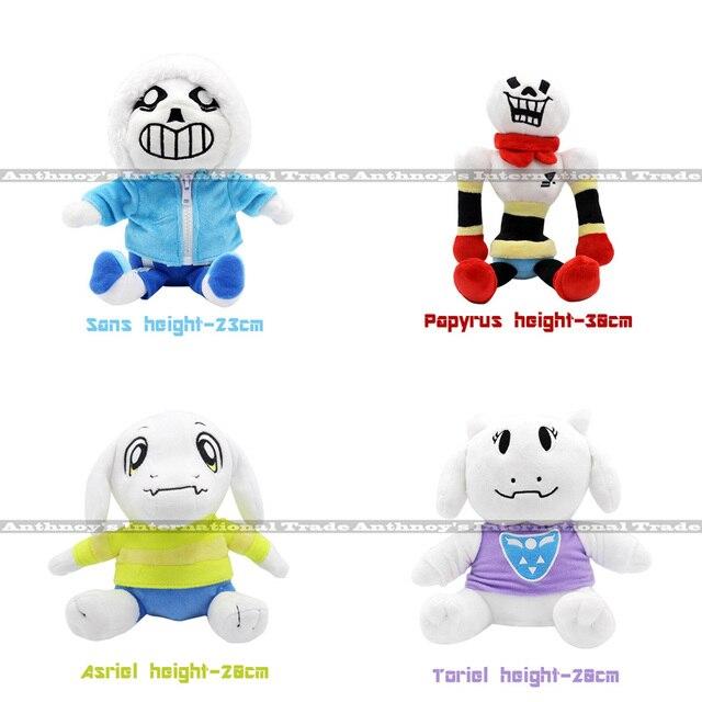 ZXS Undertale Sans Papyrus Asriel Toriel Temmie Frisk Chara Stuffed Doll Plush Figure Toy hot games undertale plush toys