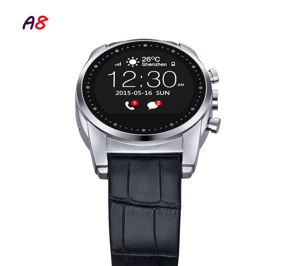 2016-Fashion-Smart-Watch-A8-Support-SIM-Card-Bluetooth-Sim-Watch-Round-Dial-Alloy-Material-Leather (4)