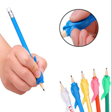 MINOCOOL 10pc Portable Cute Kawaii Children Student Learning Writing Begainer Pencil Holding Practise Device Correcting Pen