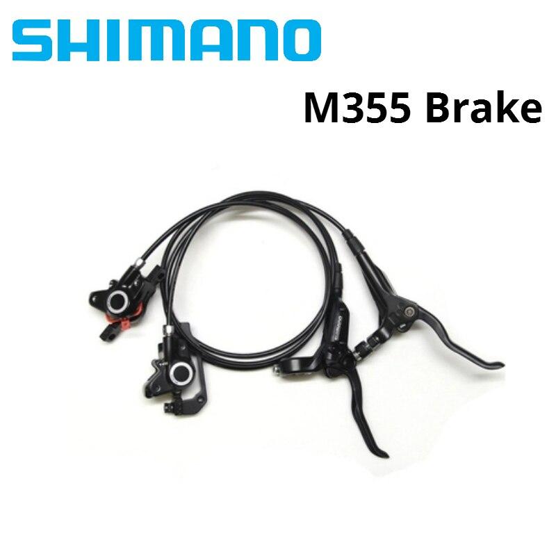 Freins hydrauliques Shimano M355 pour vélos frein de BR-BL-M355 vtt frein à disque de vélo plaquettes de frein de montagne