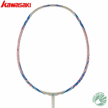 2020 Kawasaki High Elastic Shaft Carbon Fiber Badminton Racquet Aerofoil Frame Porcelain-520F  Racket  With Gift
