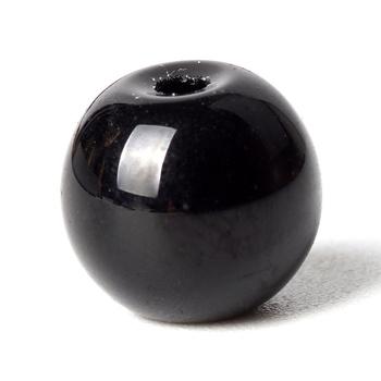 Naturalny czarny kryształ szklane koraliki okrągły zegarek kwarcowy luźne koraliki modułowe 6-10mm koralik akcesoria do tworzenia biżuterii bransoletki i bransoletki tanie i dobre opinie Grzywny DSC02664 Brak klenot 6735217104840 Okrągły kształt 60-100g 6 8 10mm Black Black Glass Bead 38cm Natural Crystal Glass Beads