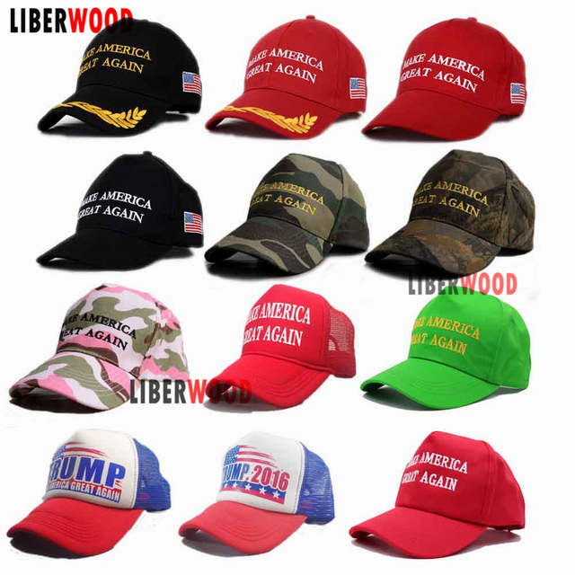 c8ab2bf5d04 placeholder Make America Great Again Hat Donald Trump 2016 Republican Hat  Cap MAGA Embroidered America president hat