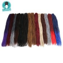 Luxury 22 32roots 100g Senegalese Twist Crochet Braid Hair Extensions  Synthetic Braiding Faux Locs Dreadlocks