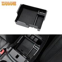Кахане стайлинга автомобилей Центральной Консоли Подлокотник ящик для хранения передней двери подкладке Box Контейнер для Ford Explorer 2012-2017