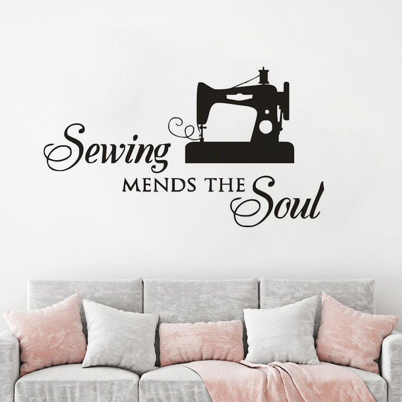Sewing Mends The Soul Wall Seamstress Appointment Wall